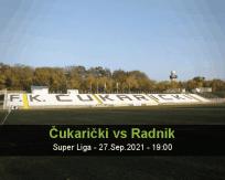 Čukarički Radnik betting prediction (27 September 2021)