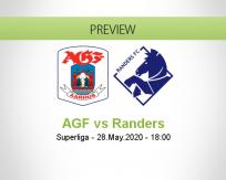 AGF vs Randers
