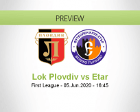 Lokomotiv Plovdiv vs Etar