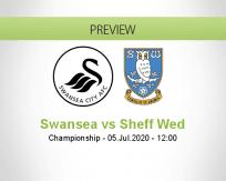 Swansea City Sheffield Wednesday betting prediction (05 July 2020)