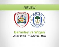 Barnsley Wigan Athletic betting prediction (11 July 2020)
