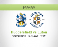 Huddersfield Town Luton Town betting prediction (10 July 2020)