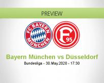 Bayern München vs Fortuna Düsseldorf