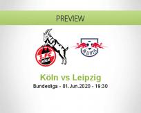 Köln RB Leipzig betting prediction (02 June 2020)