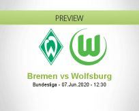 Werder Bremen Wolfsburg betting prediction (07 June 2020)