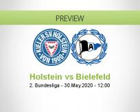 Holstein Kiel Arminia Bielefeld betting prediction (30 May 2020)