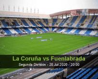 Deportivo La Coruña Fuenlabrada betting prediction (07 August 2020)