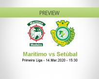 Marítimo vs Vitória Setúbal