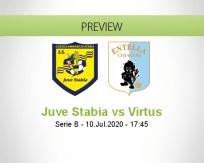 Juve Stabia Virtus Entella betting prediction (10 July 2020)