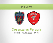Cosenza Perugia betting prediction (13 July 2020)