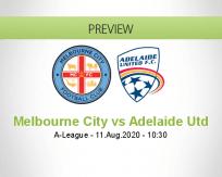 Melbourne City vs Adelaide United