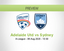 Adelaide United Sydney betting prediction (06 August 2020)