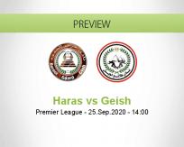 Haras El Hodood El Geish betting prediction (25 September 2020)