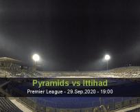 Pyramids Al Ittihad betting prediction (29 September 2020)