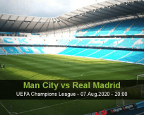 Manchester City Real Madrid betting prediction (07 August 2020)