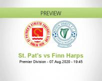 St. Patrick's Ath. Finn Harps betting prediction (07 August 2020)