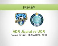 ADR Jicaral UCR betting prediction (30 May 2020)