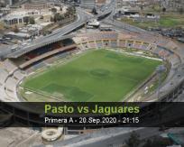 Deportivo Pasto vs Jaguares de Córdoba