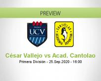 César Vallejo Academia Cantolao betting prediction (25 September 2020)