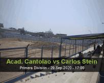 Academia Cantolao Carlos Stein betting prediction (29 September 2020)