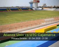 Alianza Universidad vs UTC Cajamarca