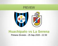 Huachipato La Serena betting prediction (26 September 2020)