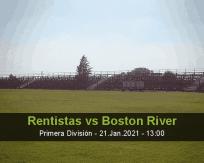 Rentistas vs Boston River