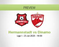 Hermannstadt vs Dinamo Bucureşti