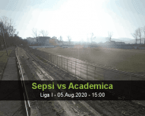 Sepsi Academica Clinceni betting prediction (05 August 2020)
