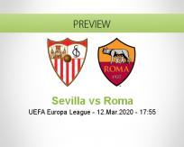 Sevilla Roma betting prediction (07 August 2020)