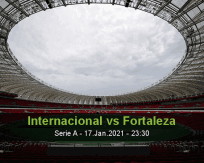 Internacional vs Fortaleza