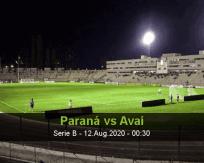 Paraná vs Avaí