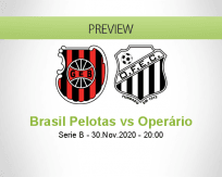 Brasil Pelotas Operário betting prediction (01 December 2020)
