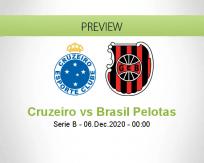 Cruzeiro vs Brasil Pelotas