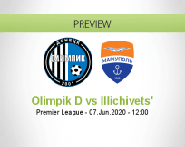 Olimpik Donetsk Illichivets' betting prediction (07 June 2020)