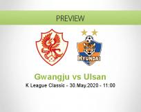 Gwangju Ulsan betting prediction (30 May 2020)