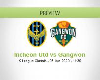Incheon United vs Gangwon