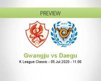 Gwangju Daegu betting prediction (05 July 2020)