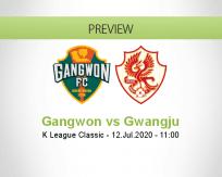 Gangwon Gwangju betting prediction (12 July 2020)
