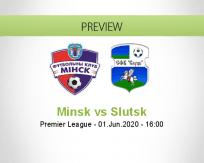 Minsk Slutsk betting prediction (01 June 2020)