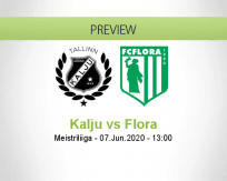 Nõmme Kalju Flora betting prediction (07 June 2020)