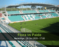 Flora Paide betting prediction (28 October 2020)