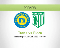 Trans Flora betting prediction (21 October 2020)