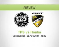 TPS Honka betting prediction (06 August 2020)