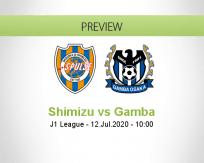 Shimizu S-Pulse Gamba Osaka betting prediction (12 July 2020)