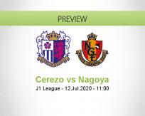 Cerezo Osaka Nagoya Grampus betting prediction (12 July 2020)