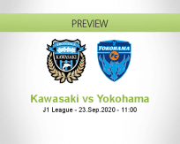 Kawasaki Frontale Yokohama betting prediction (23 September 2020)
