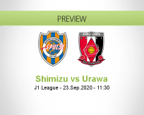Shimizu S-Pulse Urawa Reds betting prediction (23 September 2020)