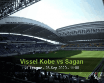 Vissel Kobe Sagan Tosu betting prediction (23 September 2020)