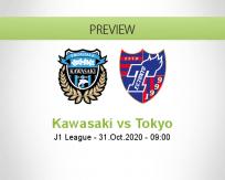 Kawasaki Frontale Tokyo betting prediction (31 October 2020)